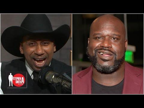 Shaq prank calls Stephen A. as Cowboys fan Tex Johnson   Stephen A. Show