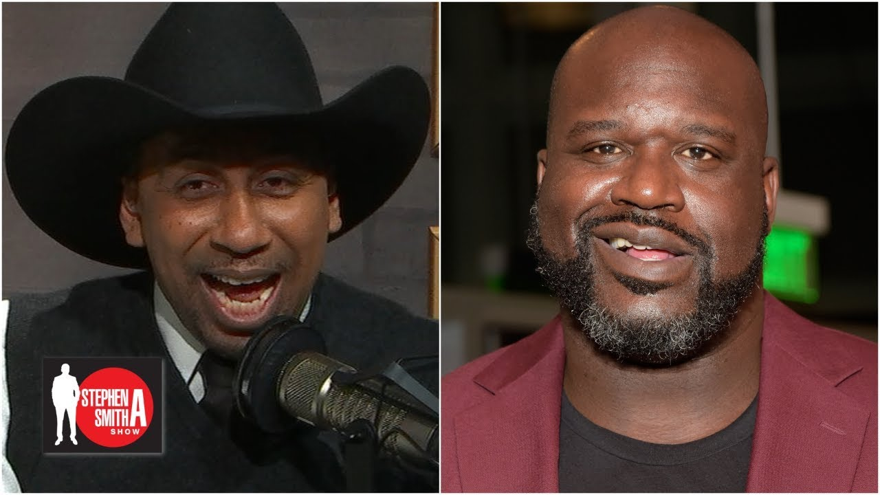 19cce9a63 Shaq prank calls Stephen A. as Cowboys fan 'Tex Johnson' | Stephen A. Show