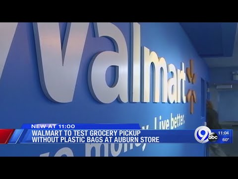Walmart Testing Grocery Pickup Without Plastic Bags At Auburn Store