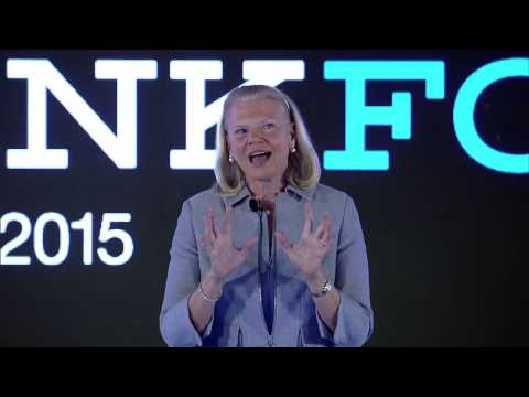 THINKForum India 2015 - Keynote by Ginni Rometty, Chairman,