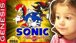 Sonic Megamix - Megadrive - Gameplay Comentado em Português PT-BR
