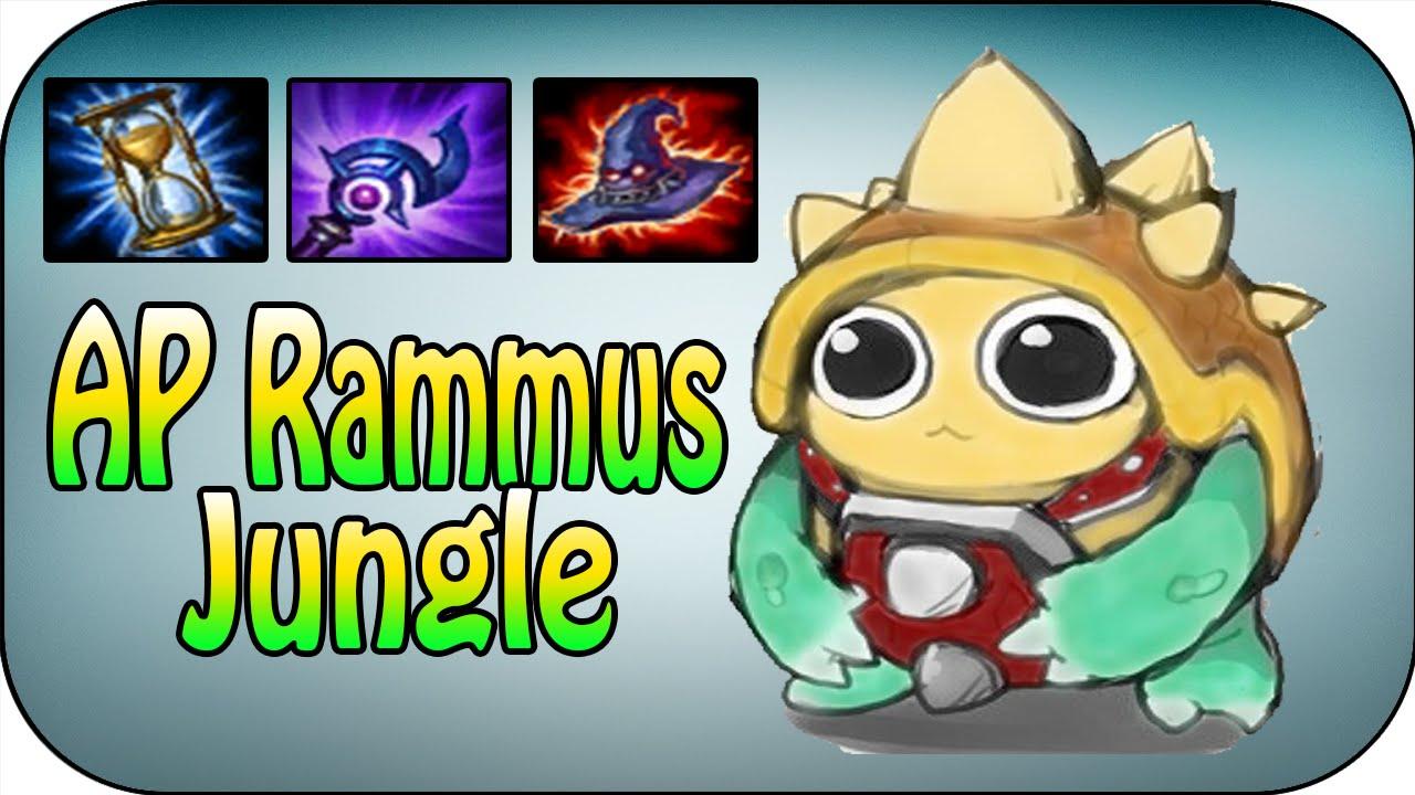 how to play rammus jungle s8