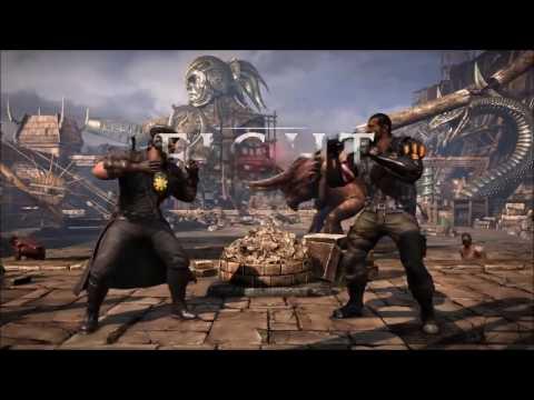 MKXL: Noble GunShow (Commando/Kano) vs Dab (Wrestler/Jax) - Online Set