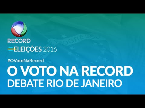 O Voto na Record - Prefeitura do Rio de Janeiro (completo)   25/09/2016