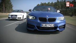 BMW M235i vs. Audi S3 - Der Cabrio-Zweikampf