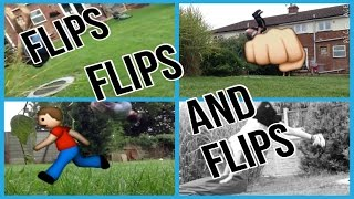 FLIPS FLIPS AND FLIPS | FREERUNNING AND TRICKING 2014 Thumbnail
