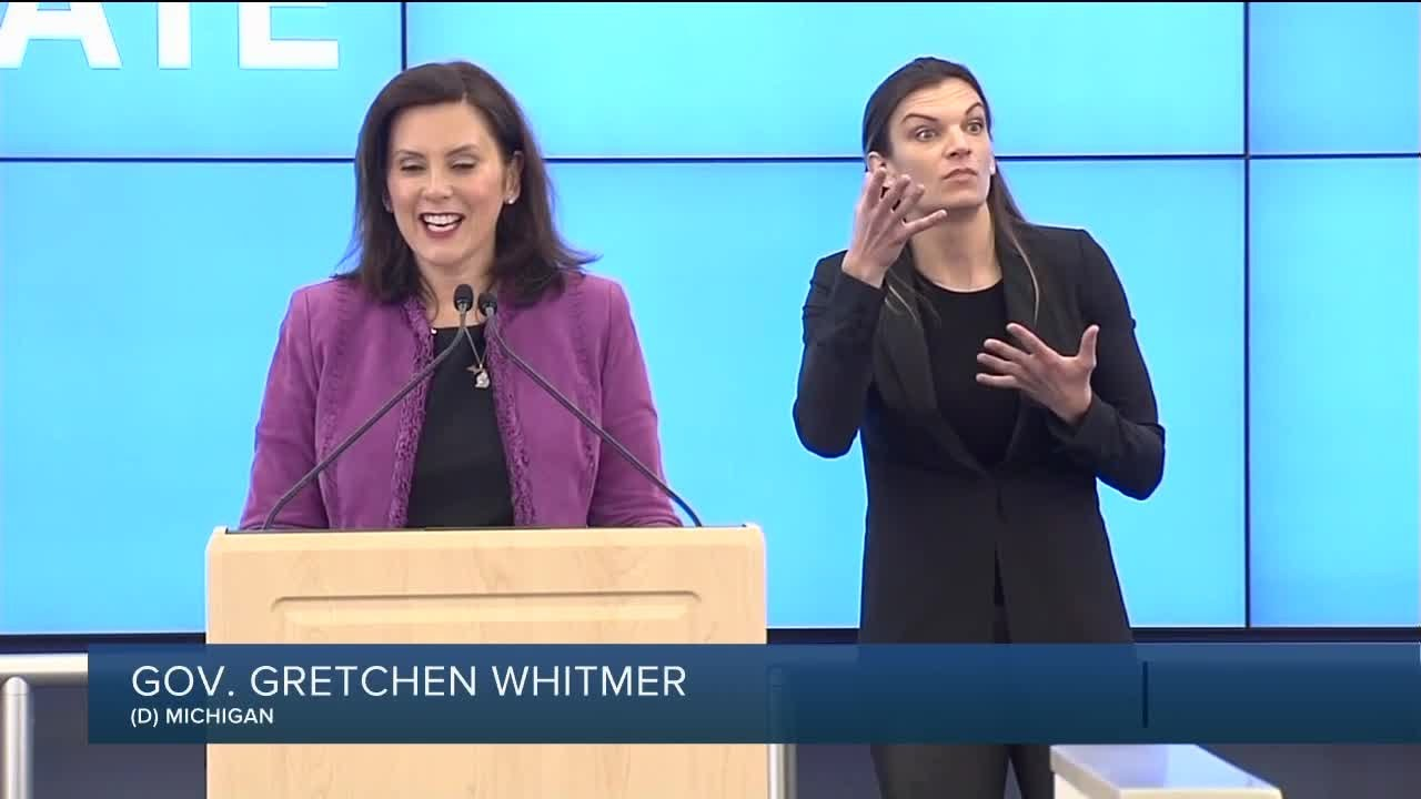 Governor Gretchen Whitmer Says To Expect Empty Stands In Michigan Sports Youtube