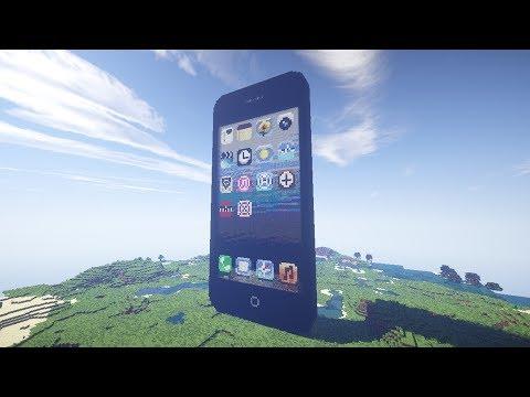 видео: iPhone в Minecraft