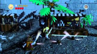 lego lord of the rings level 11 helms deep free play all collectables htg