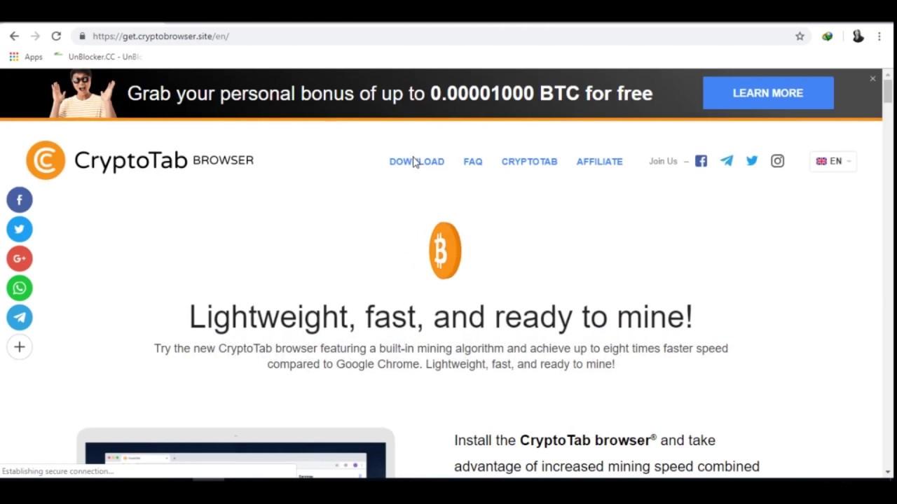 cryptotab windows 10