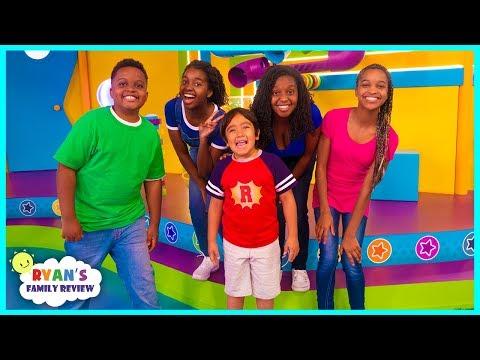 Onyx Family on Ryan's Mystery Playdate on Nickelodeon!!!