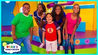 Onyx Family on Ryan's Mystery Playdate on Nickelodeon!!!