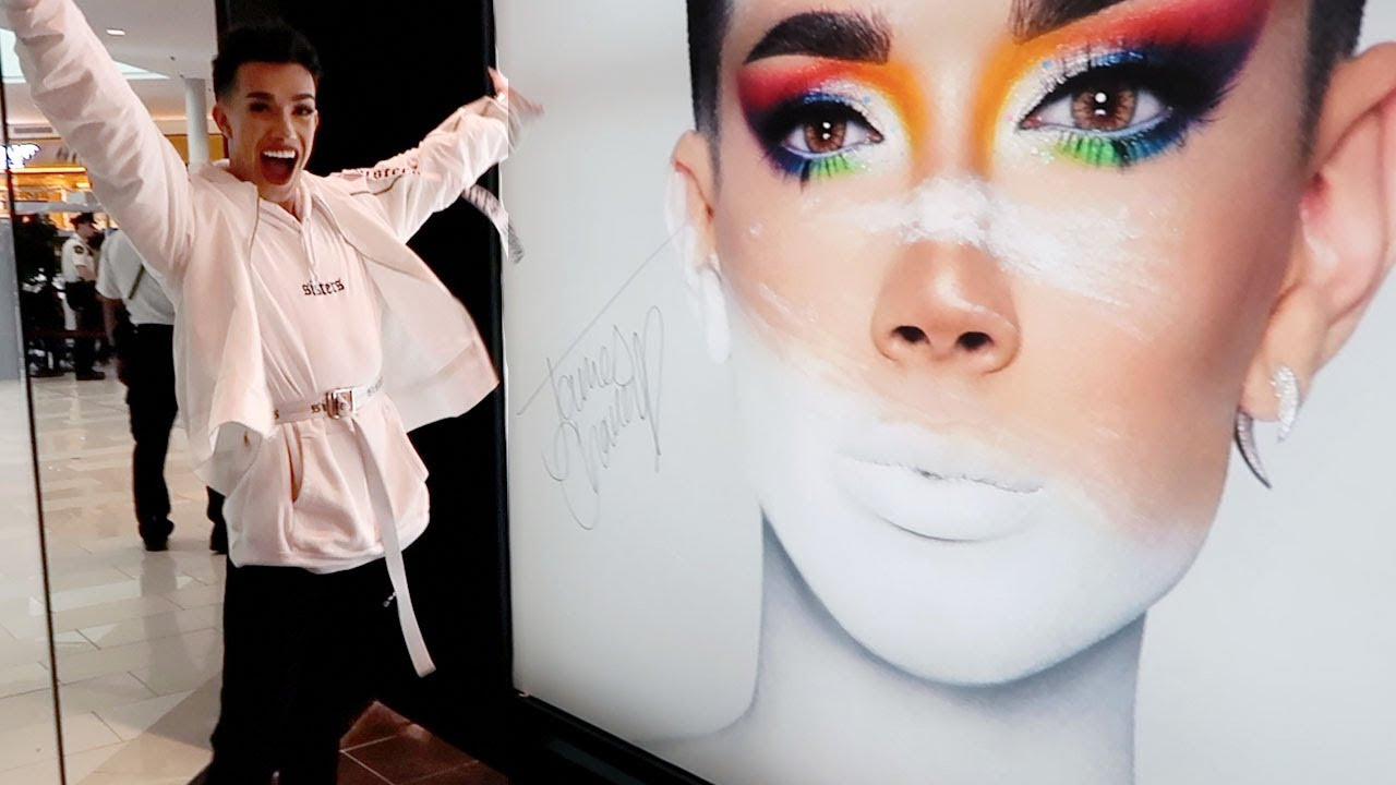 James Charles Will Appear At Morphe Opening In Mississauga