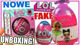 LOL Surprise ❤️ Chińskie Podróbki 🔮 FAKE 🎁 Jajka LOL & Walizka