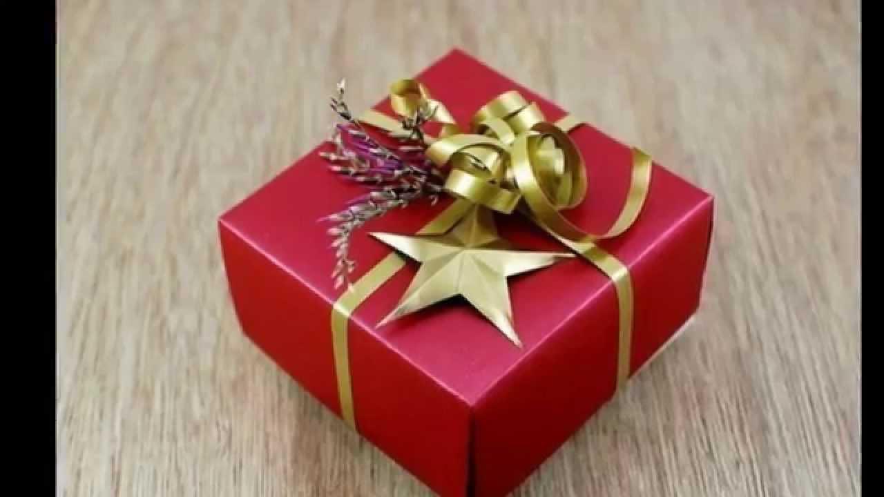 Как можно сделать подарочную коробку своими руками фото 70