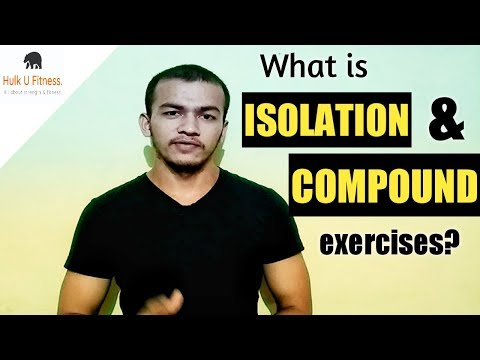 What is Isolation and Compound exercises | Indian bodybuilding | Hindi