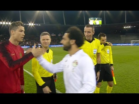 C. Ronaldo vs Mo Salah (Performances Comparison) | Portugal - Egypt 2018