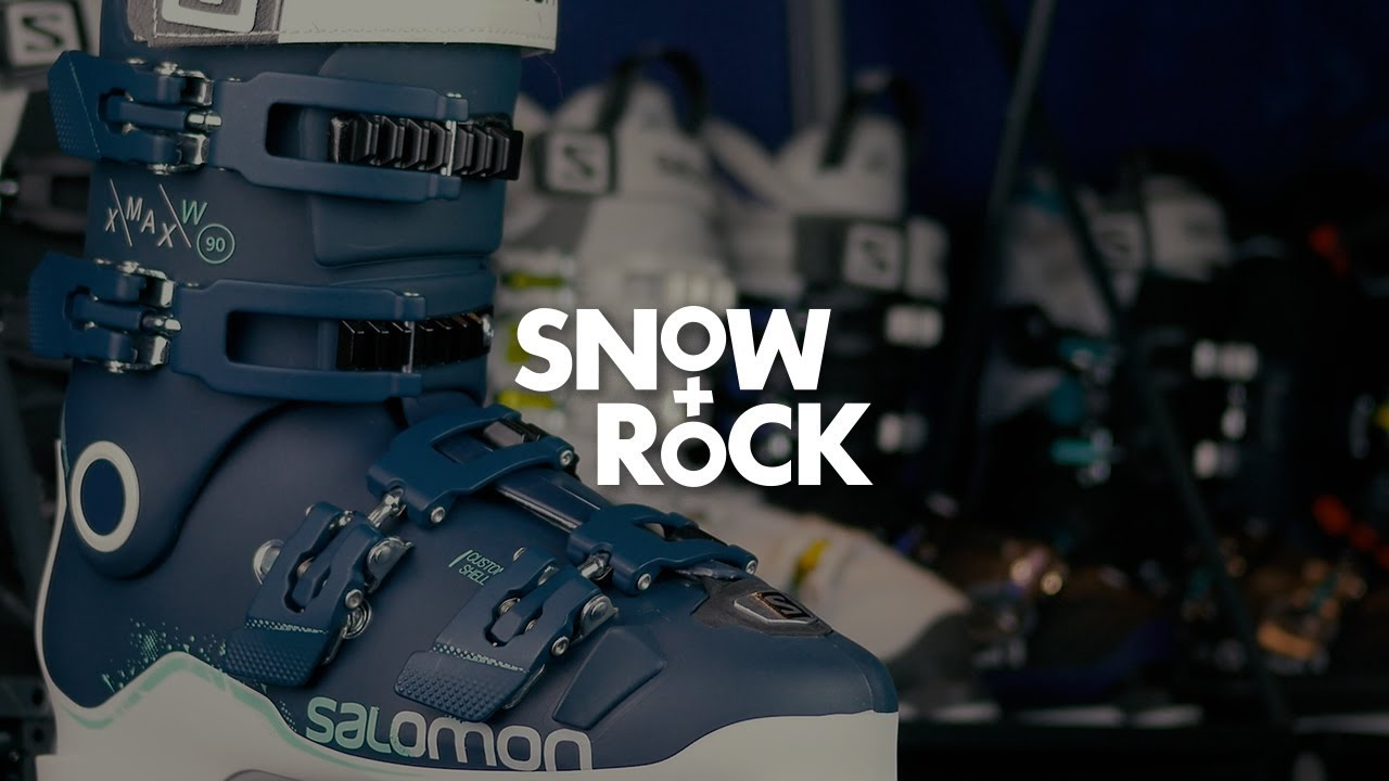 Salomon X Max 90 W 2018 Ski Boot Overview by Snow+Rock