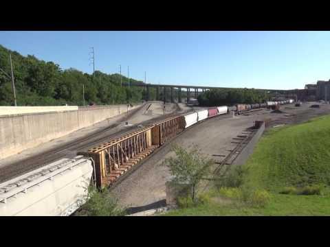 Kansas City Area Rail Action 5/13-14/2017
