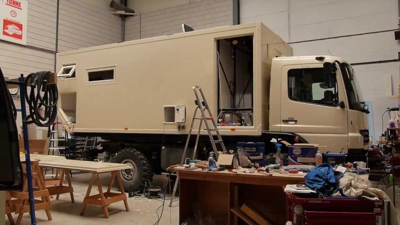 How its made part 2 4WD overland expedition vehicle