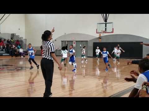 Washington Parks Academy Spartans game 2. 2019-20 Season