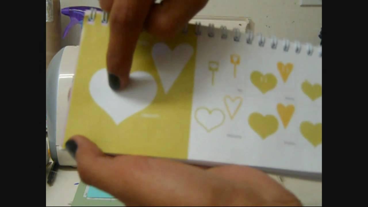 Cardmaking I Heart U Valentine S Day Card Using The Cricut Day 27