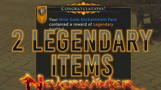 Neverwinter | Ripping 100 Keys 2 Legendary Items!! Back with a Bang!