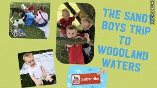 The Sandy Boys at Woodland Waters in Lincolnshire