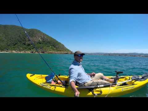 Garrick ( Leervis ) fishing - Sedgefield / Knysna Lagoon - South Africa