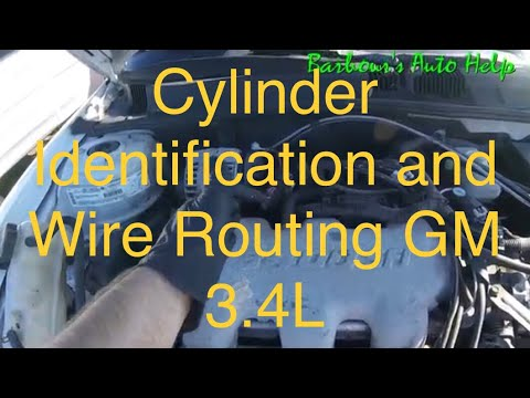Cylinder Identification and Wire Routing GM 34L  YouTube