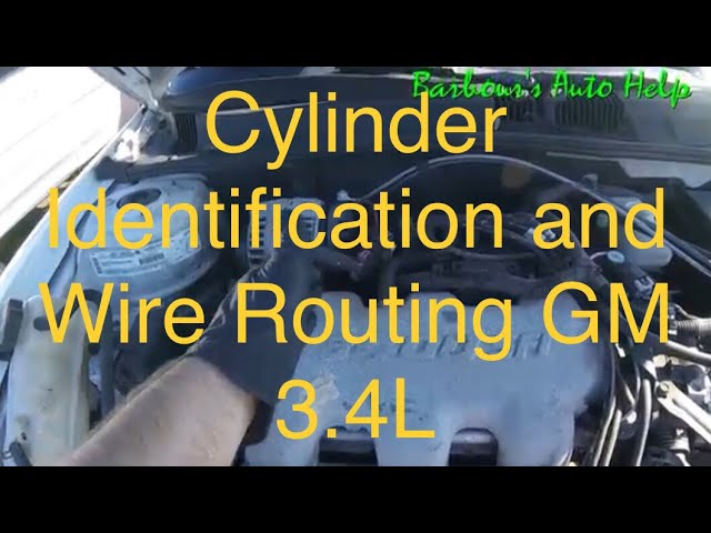 Cylinder Identification and Wire Routing GM 3.4L - YouTube | Chevy 3400 Engine Diagram Of Upper |  | YouTube
