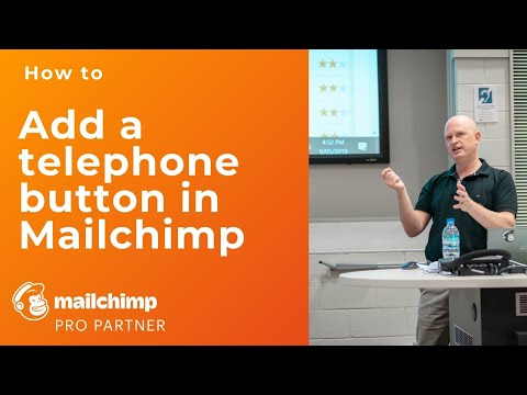 Solved: Learn how to add a telephone hyperlink in a Mailchimp email campaign