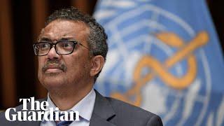 Coronavirus: WHO holds briefing on global developments – watch live
