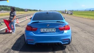740HP BMW M4 on TRACK -  ACCELERATION SOUND!🔥😈🚀