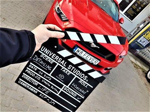 DETAILING OD KUCHNI - odc.1 WPROWADZENIE - Ford Mustang GT V8 VLOG