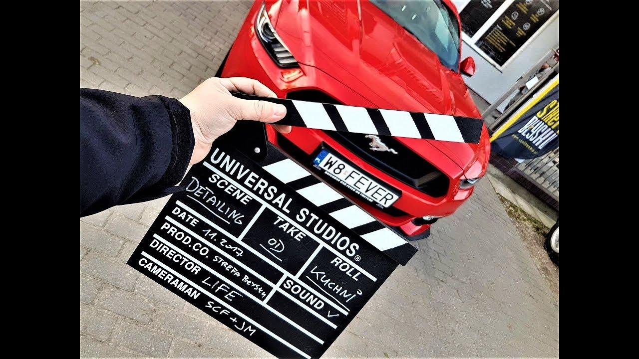 DETAILING OD KUCHNI – odc.1 Ford Mustang V8 VLOG