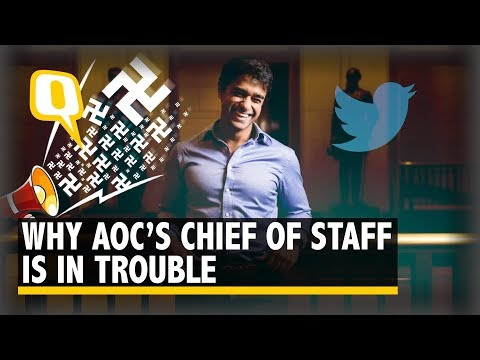 Here's Why AOC's Indian-Origin Chief of Staff Saikat Chakrabarti Was in the News | The Quint