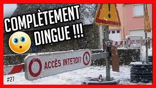 Bretagne, TEMPÊTE de fou ! (Locronan)