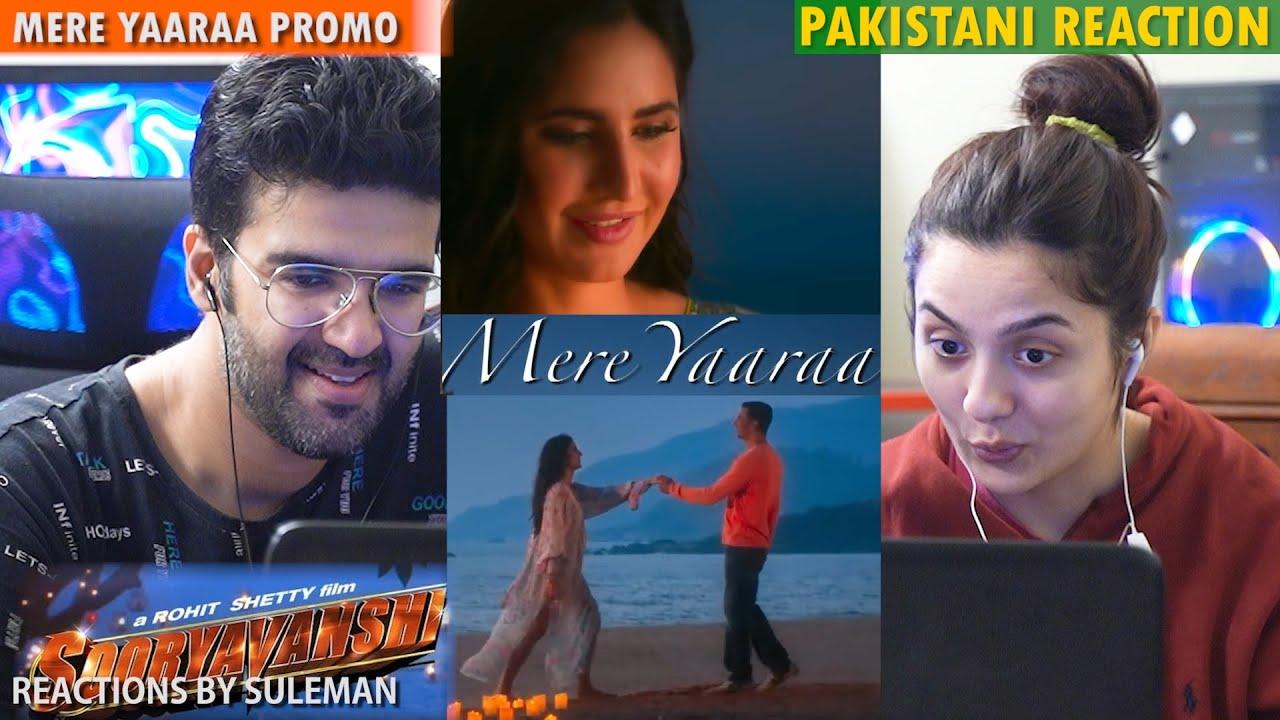 Pakistani Couple Reacts To Mere Yaaraa Teaser |Sooryavanshi |Akshay K, Katrina K, Ranveer S , Arijit