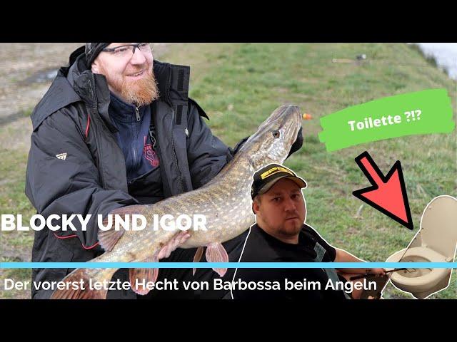 Blocky und Igor | Der vorerst letzte Hecht von Barbossa beim Angeln