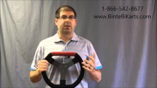 Racing Go Kart Steering Wheels For Sale From Bintelli Karts. Great For Barstool Racers