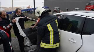 Lüleburgaz'da trafik kazası!