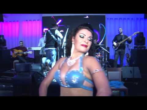 Nava Aharoni Belly Dancer  ghajar  band