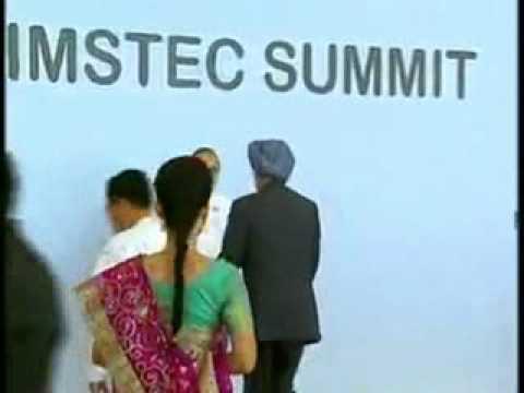BIMSTEC Summit: Myanmar Prez greets leaders of 7 countries