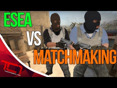 esea vs matchmaking ranks