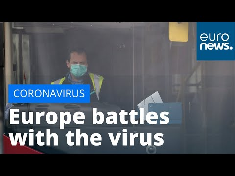 Covid-10: Europe Battles With The Coronavirus