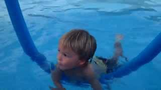 How To Teach Your Child To Swim - Infant Swimming Lessons!