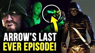 HUGE Green Lantern Teaser & Goodbye Arrow! - Arrow Series Finale REVIEW