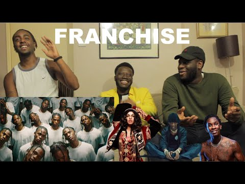 Travis Scott feat. Young Thug & M.I.A. - FRANCHISE (Official Music Video) (REACTION)
