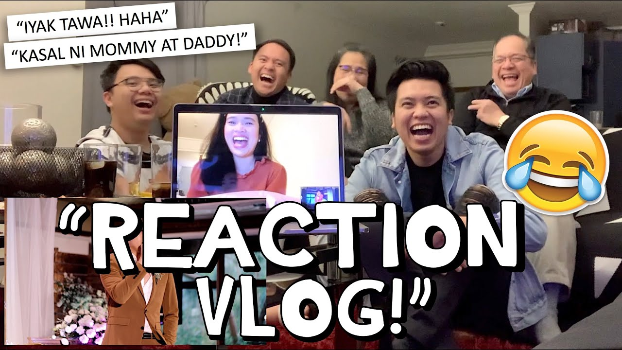 """WATCHING OUR PARENTS' WEDDING VIDEO!!"" 😭❤️ REACTION VLOG! 💍 